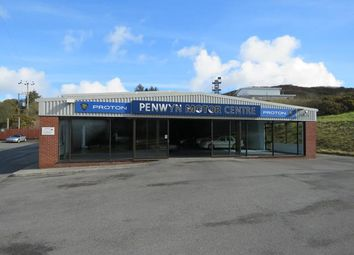 Thumbnail Commercial property for sale in Penwyn Motors, Hendra Road, St Dennis, St. Austell, Cornwall