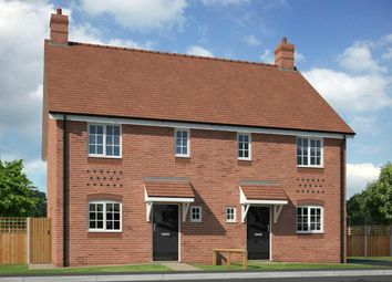 Thumbnail 3 bed semi-detached house for sale in Chantry Close, Off Poynton Road, Shawbury, Shrewsbury