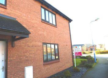 Thumbnail 2 bed flat to rent in Swanwick Lane, Broughton, Milton Keynes