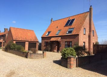 Thumbnail 4 bed detached house for sale in Chapel Lane, Sculthorpe, Fakenham