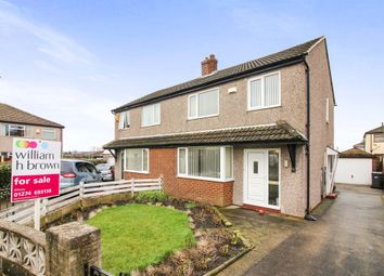 Thumbnail 3 bed semi-detached house for sale in Tyersal Park, Tyersal, Bradford