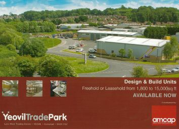 Thumbnail Business park for sale in Yeovil Trade Park, Yeovil
