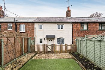 Thumbnail 2 bed terraced house for sale in Shrewton Road, Chitterne, Warminster