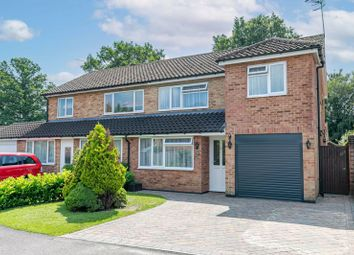 Thumbnail 3 bed semi-detached house for sale in Bramble Close, Copthorne, West Sussex