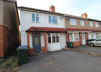 Thumbnail 3 bed end terrace house for sale in Wyke Road, Coventry