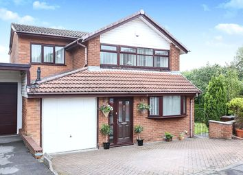 Thumbnail 4 bedroom detached house for sale in Crossbridge Road, Hyde, Cheshire