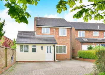 Thumbnail 3 bed detached house for sale in Clay Hill, Two Mile Ash, Milton Keynes, Bucks