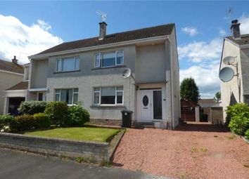 Thumbnail 2 bed semi-detached house for sale in Minden Crescent, Dumfries, Dumfries And Galloway