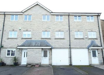 Thumbnail 3 bed town house for sale in Highcliffe Court, Shelf, Halifax, West Yorkshire
