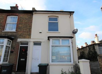 Thumbnail 2 bed end terrace house to rent in Suffolk Road, Gravesend