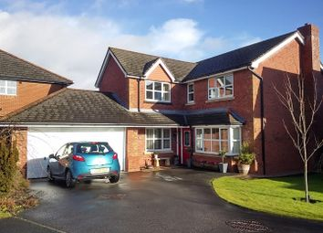 Thumbnail 4 bed detached house for sale in St. Annes Drive, Morda, Oswestry