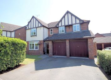 Thumbnail 5 bed property for sale in Clover Drive, Pickmere, Knutsford