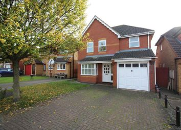 Thumbnail 4 bedroom detached house to rent in Stukeley Meadows, Huntingdon, Cambridgeshire.