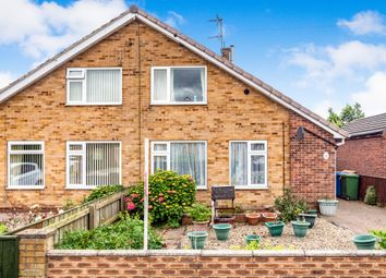 Thumbnail 2 bed semi-detached house for sale in Highfield Avenue, Driffield