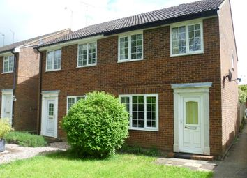 Thumbnail 3 bed semi-detached house to rent in March Edge, Buckingham