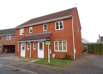 Thumbnail 3 bed semi-detached house for sale in Stableford Close, Shepshed, Leicestershire