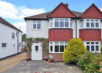 Thumbnail 3 bed semi-detached house for sale in Mortimer Crescent, Worcester Park