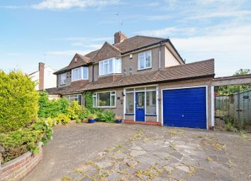 Thumbnail 3 bed semi-detached house for sale in Broke Farm Drive, Pratts Bottom, Orpington