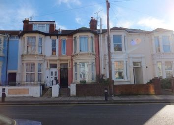 Thumbnail 4 bed flat to rent in Waverley Road, Southsea