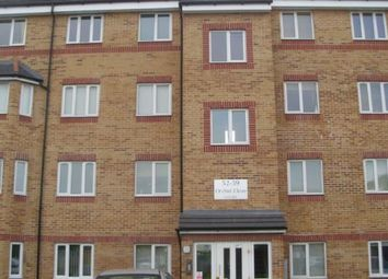 Thumbnail 2 bedroom flat to rent in Orchid Close, Luton