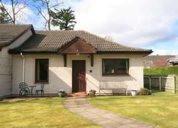 Thumbnail 2 bed bungalow for sale in Dalginross Gardens, Comrie