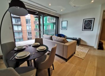Thumbnail 2 bed flat to rent in Legacy Building, Embassy Gardens, Nine Elms, London