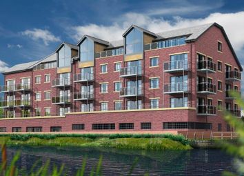 Thumbnail 2 bed flat for sale in Quayside, Chester