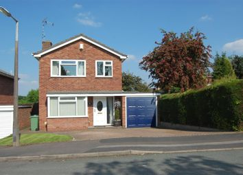 Thumbnail 3 bed detached house for sale in Snead Close, Stafford