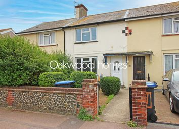 Thumbnail 3 bed terraced house for sale in Dunstan Avenue, Westgate-On-Sea