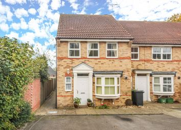 Thumbnail 3 bedroom end terrace house for sale in Cottrell Close, Hungerford