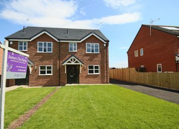 Thumbnail 3 bed semi-detached house for sale in Meadow View, Garden City, Tern Hill, Market Drayton