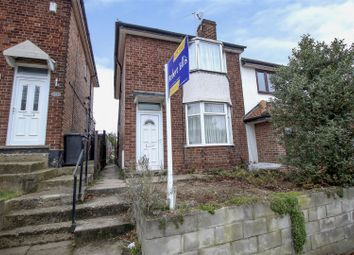 Thumbnail 2 bed semi-detached house for sale in Cemetery Road, Stapleford, Nottingham