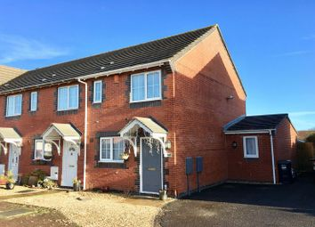 Thumbnail 2 bed end terrace house for sale in Yarbury Way, Weston-Super-Mare