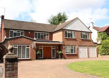 Thumbnail 4 bed detached house for sale in Upland Drive, Brookmans Park, Hatfield