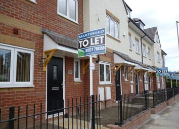 Thumbnail 4 bed town house to rent in Barnsley Road, Hemsworth, Pontefract