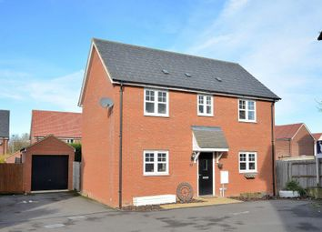 Thumbnail 3 bed detached house for sale in Tiree Court, Newton Leys, Bletchley, Milton Keynes