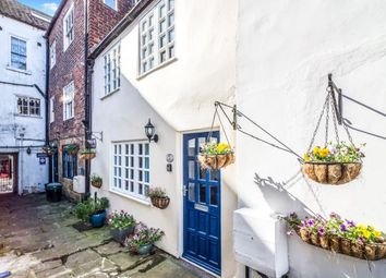 Thumbnail 2 bed terraced house for sale in Oystons Yard, Flowergate, Whitby, North Yorkshire
