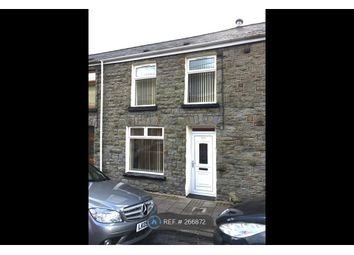 Thumbnail 3 bed terraced house to rent in Dumfries Street, Treorchy