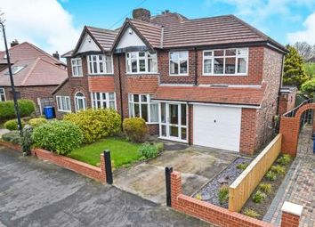 Thumbnail 4 bed semi-detached house for sale in Walton Road, Sale, Greater Manchester, Trafford