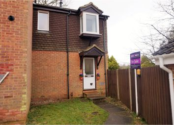 Thumbnail 1 bed end terrace house for sale in Micawber Close, Chatham