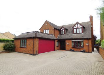 Thumbnail 4 bed detached house for sale in Coates Road, Eastrea, Whittlesey, Peterborough