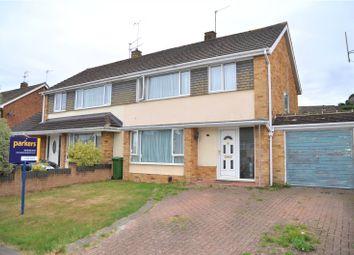 Thumbnail 3 bed semi-detached house for sale in Hildens Drive, Tilehurst, Reading, Berkshire