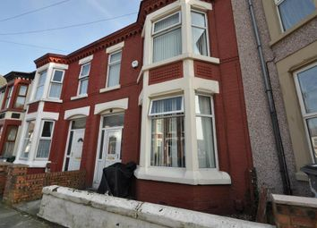 Thumbnail 3 bed terraced house for sale in Albemarle Road, Wallasey