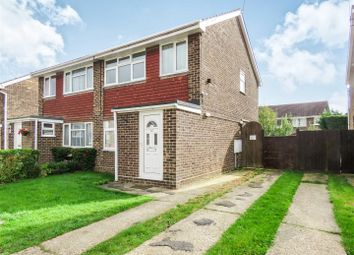Thumbnail 3 bed semi-detached house to rent in Shawley Road, Sawtry, Huntingdon