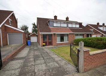 Thumbnail 3 bed semi-detached house for sale in Lynne Crescent, Bangor