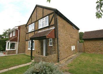 Thumbnail 4 bed detached house to rent in Woodside Gardens, Chineham, Basingstoke