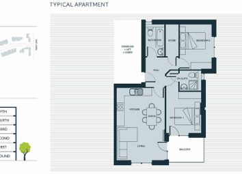 Thumbnail 2 bed flat for sale in Portside Street, Trent Basin, Nottingham
