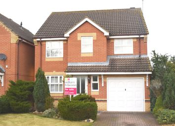 Thumbnail 4 bed detached house for sale in Turnstone Way, Stanground, Peterborough