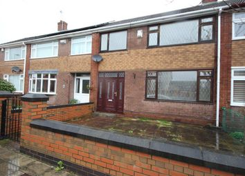 Thumbnail 3 bed terraced house to rent in Cresswell Road, Hanley, Stoke-On-Trent
