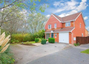 Thumbnail 4 bed detached house for sale in Thurston Drive, Kettering